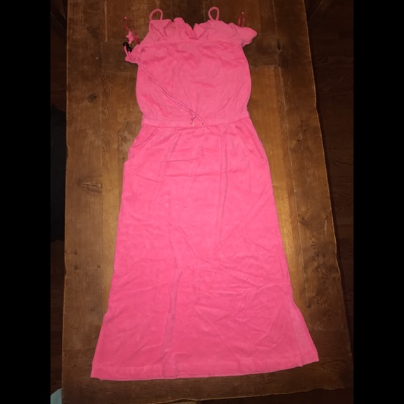 Juicy Couture Dresses | Sale Juicy Terry Cloth Maxi Strapless Dress ...